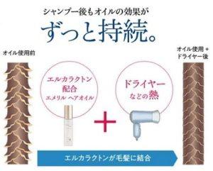 エメリル ヘアオイル 口コミ,髪の毛 ツヤツヤにする方法 オイル