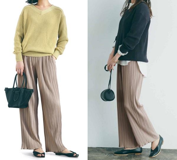 プチプラファッション,フェリシモ,パンツ